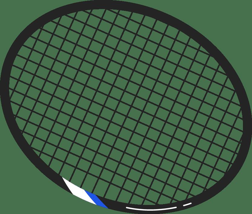 Free Online Badminton Racket Sports Racket Vector For