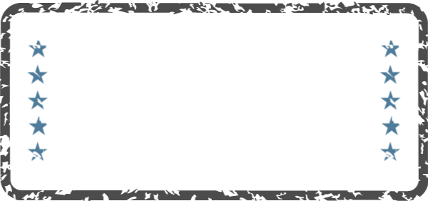 Free Online Rectangular Textured Border Frame Vector For