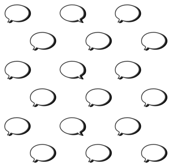 Free Online Dialog Box Bubbles Wireframe Vector For Design