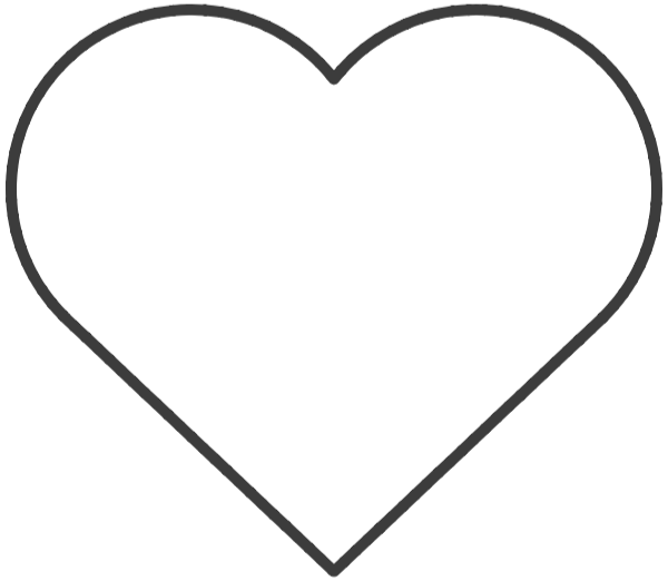 Free Online Love Box Border Wireframe Vector For Design
