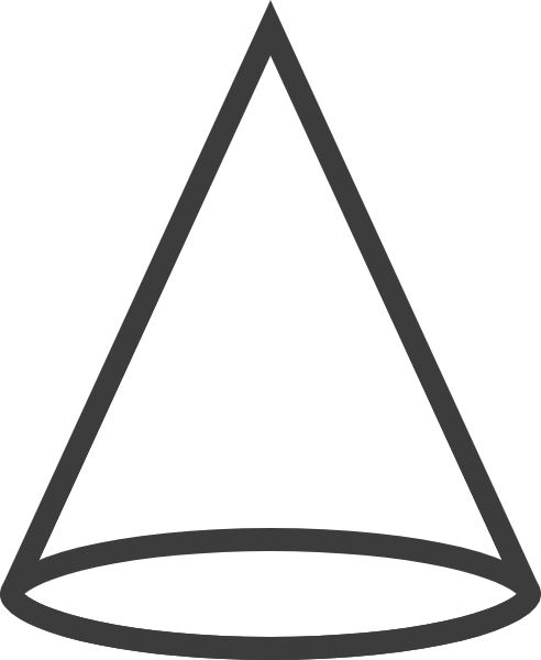 Free Online Cone Shape Basic Geometry Vector For Design