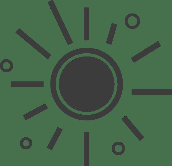 Free Online Sun Sunshine Summer Weather Vector For Design