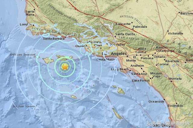 加州7級地震概率近50%!手機不敢離手 - 萬維讀者網