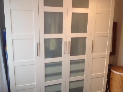 4 deurs Ikea kledingkast marktplein