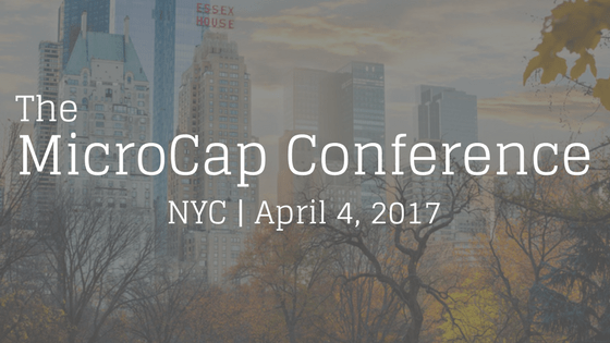 The MicroCap Conference