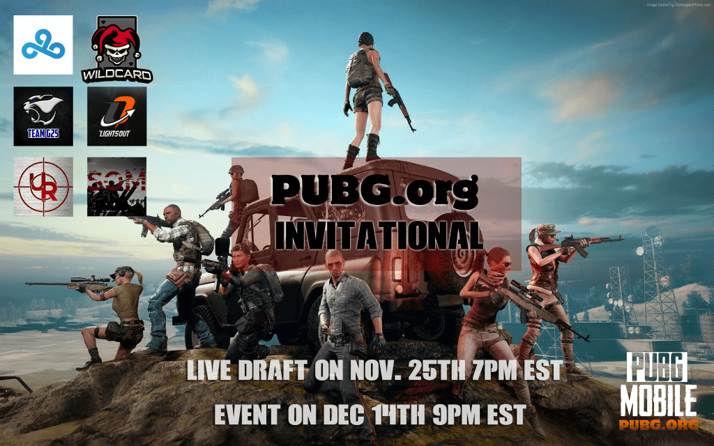 PUBGorg PUBG Mobile Invitational Promo