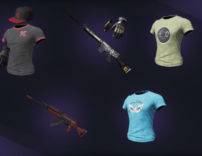 Limited time Broadcaster Royale Twitch Streamer Skins: Group 9