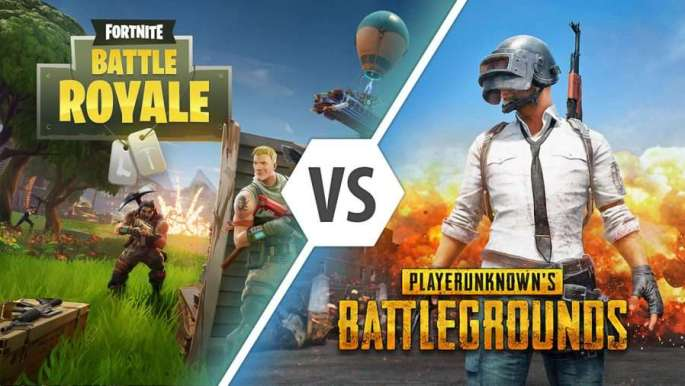 Fortnite Vs PUBG- Updates