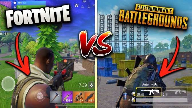 Which one is best Fortnite or PUBG?
