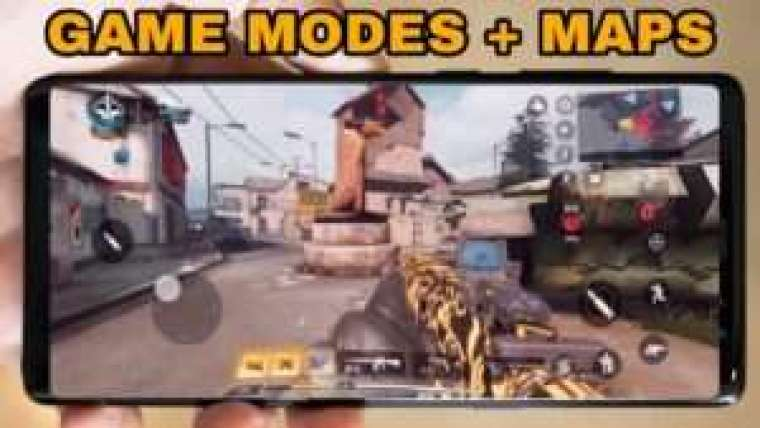 COD Mobile Maps and Modes