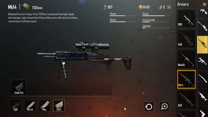 MK14 Epic DMRs found in AirDrops