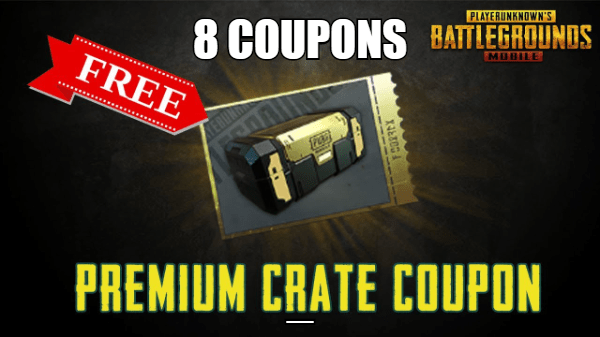 Get 8 Free Crate Coupons And 10 Coupon Scrap – New VPN Trick