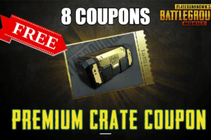 Free Crate Coupons in PUBG Mobile