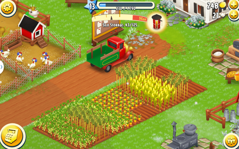 Hay Day Crops Cultivate
