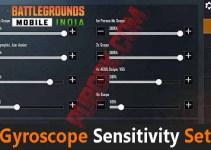 Battlegrounds Mobile India: Best gyroscope sensitivity settings