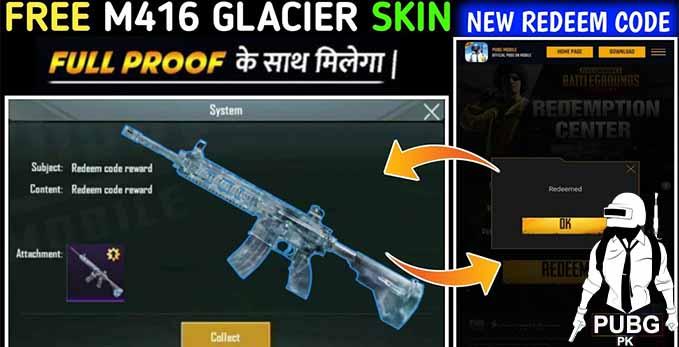 How to get M416 Glacier Skin Full Method
