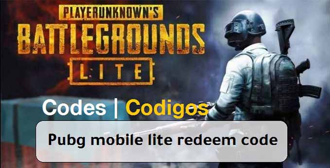 PUBG Mobile Lite redeem code for today ( July ) to get free rewards