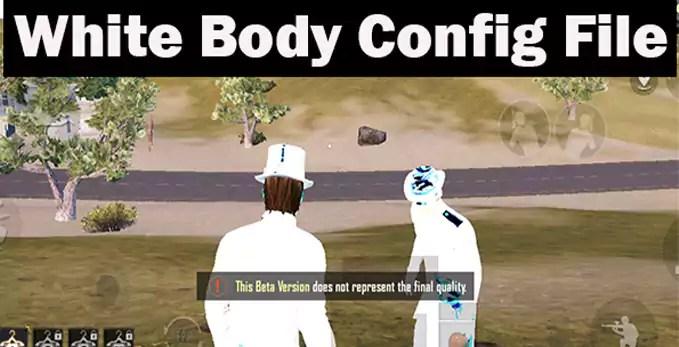 White Body Black Sky Dark Mode.90FPF Config Pubg Mobile 1.5 Global - Game Secret Boy