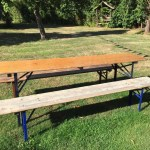 Folding Picnic Table Bench Set Pub Kit