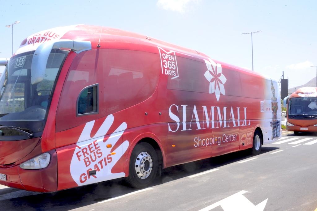 Rotulación integral bus Sianmall, Tenerife