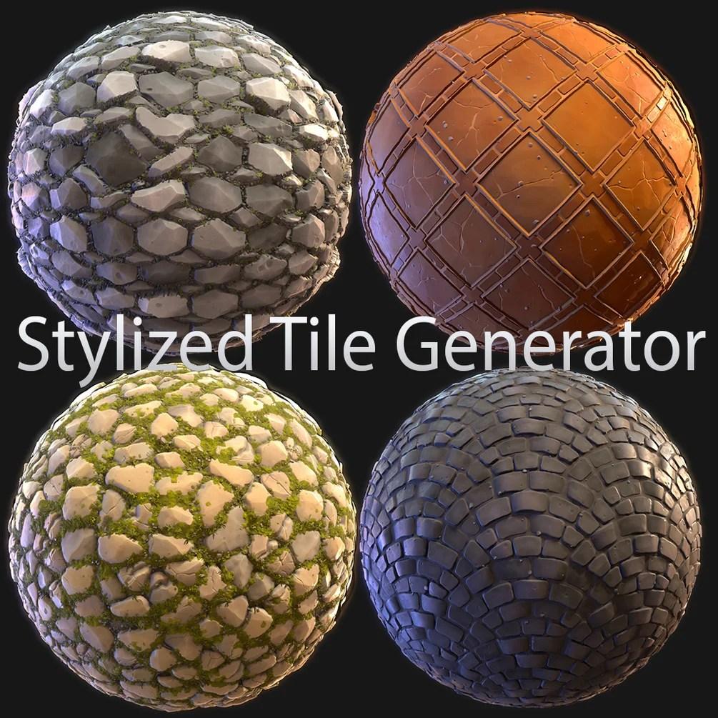 stylized tile generator