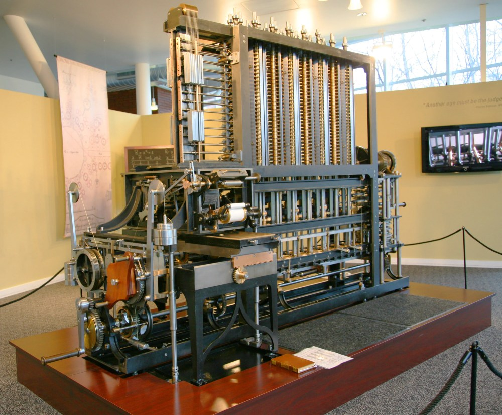medium resolution of charles babbage 1791 1871 designed the first automatic computing engines he invented
