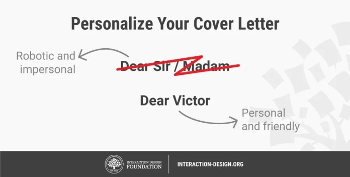 What Are Ux Cover Letters Interaction Design Foundation Ixdf
