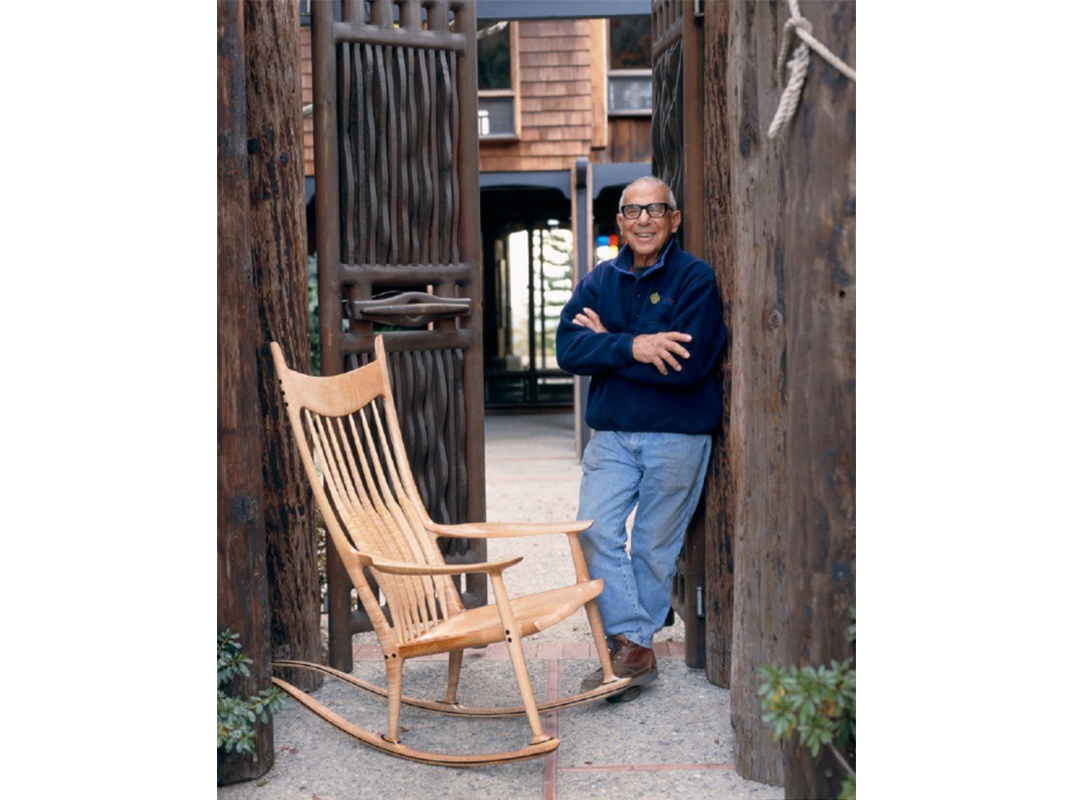 sam maloof rocking chair plans chairs without arms famous for his made furniture
