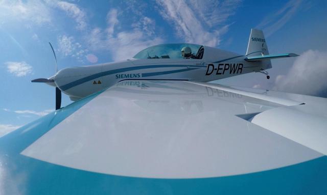 The Siemens-powered Magnus eFusion hybrid aircraft