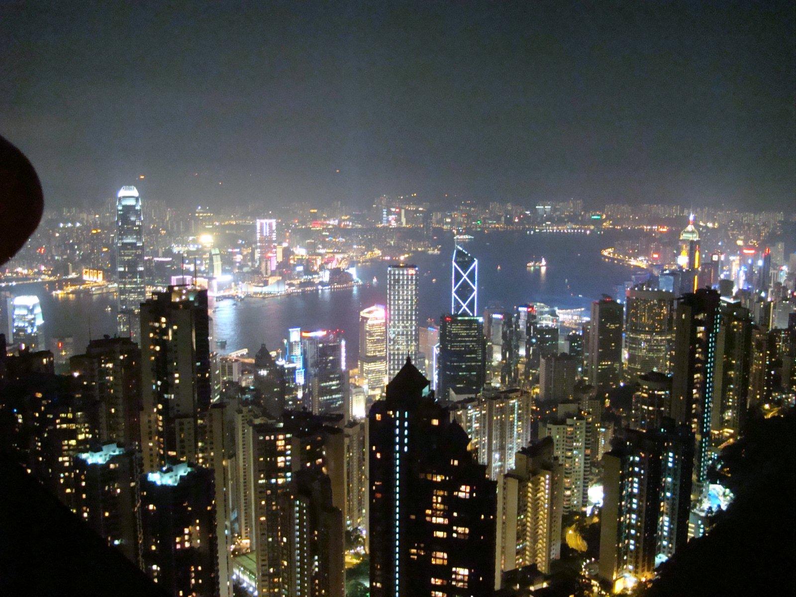山頂纜車&太平山夜景@中環 - Disney&Tiffany@香港HK - Chris's Space