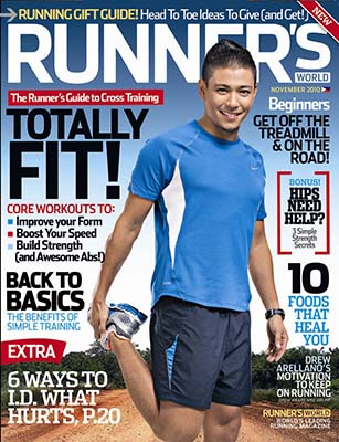 Runner's World Philippines November 2010 Issue