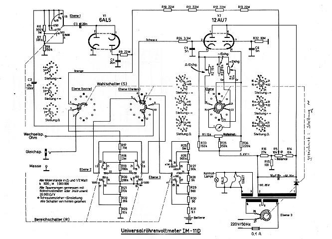 VACUUM-TUBE VOLTMETER HEATHKIT 11-D