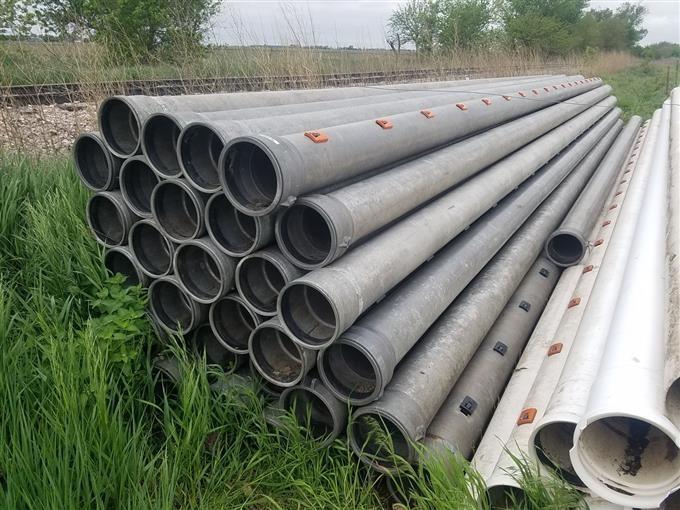 10 Aluminum Irrigation Pipe.BigIron. Professional