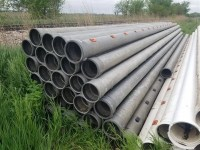 10 Aluminum Irrigation Pipe.BigIron. Professional