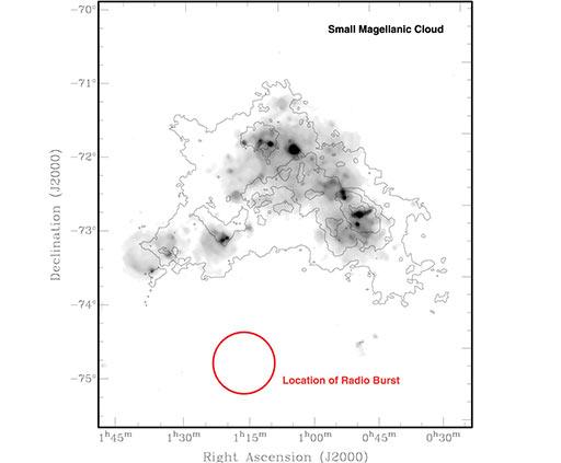 Powerful Radio Burst Indicates New Astronomical Phenomenon
