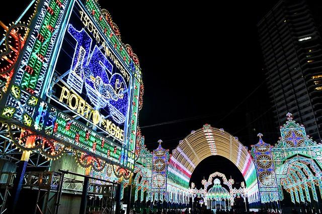 神戶光之祭典Luminarie試點燈 通往未來的光芒:朝日新聞中文網