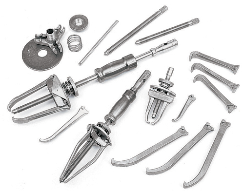 Heavy-Duty Manual Interchangeable Puller Set