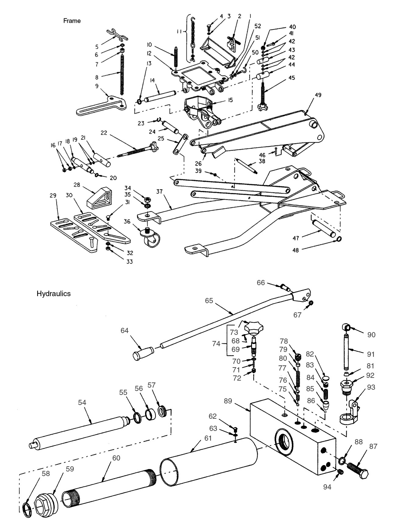 blackhawk floor jack parts diagram 3 phase air conditioning wiring hydraulic replacement bing images