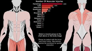 Muscular Injuries in the English Premier League | Tableau