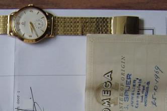 Vintage horloge verkocht door Spyer