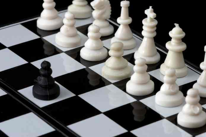 Chess - One pawn against all