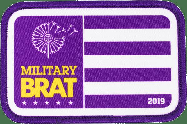 Military Brat patch