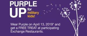 MOMC - Purple Up Free Treat