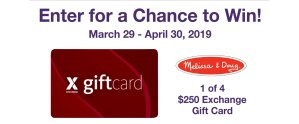 MOMC Melissa & Doug Gift Card Sweepstakes
