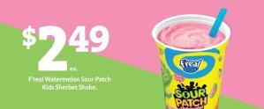Express - f'real Shake $2.49