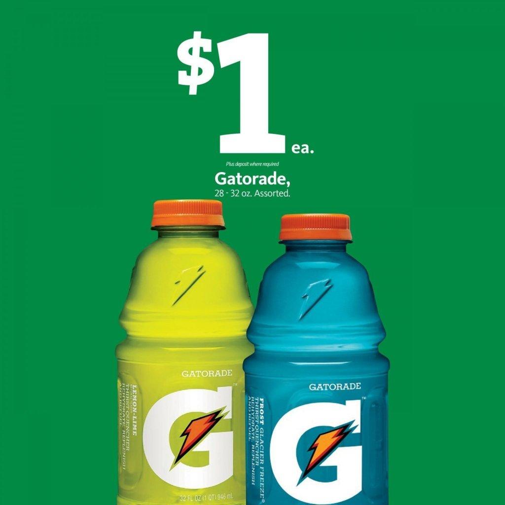 Express - Gatorade $1.00
