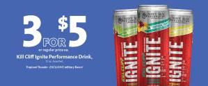 Express - Kill Cliff Drink 3/$5
