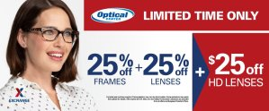 Optical Center August Promotion