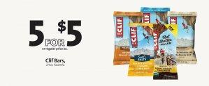 EXPRESS - Clif Bars 5/$5