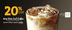 EXPRESS - Save 20% on Iced Coffee